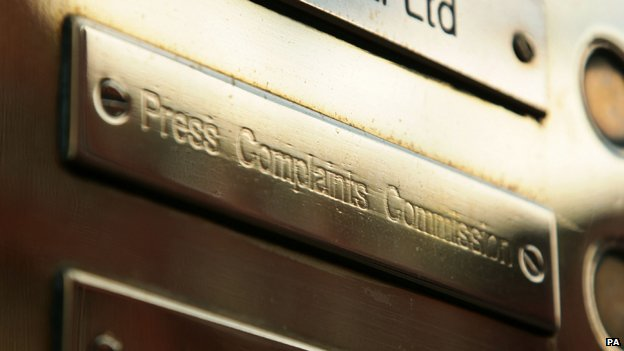 Press Complaints Commission doorplate