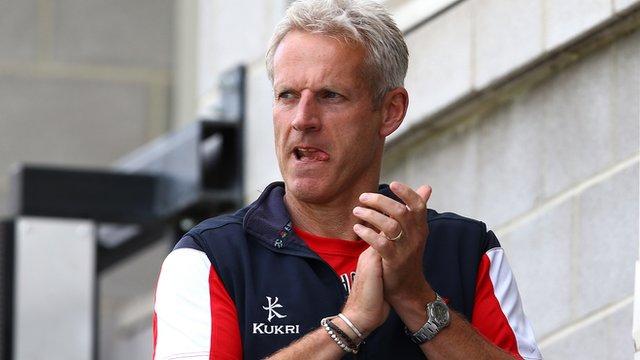 Lancashire coach Peter Moores