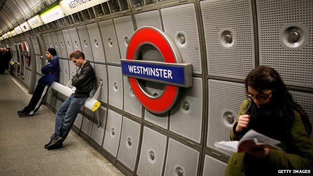 Westminster station, Jubilee line