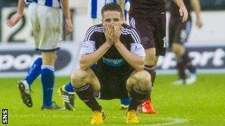 Hearts defender Brad McKay