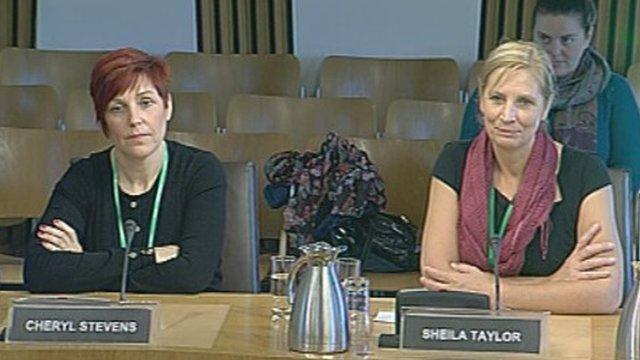 Cheryl Stevens and Sheila Taylor MBE