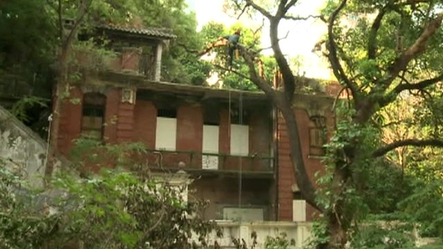 Hong Kong building said to be haunted