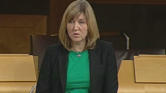 Green MSP Alison Johnstone