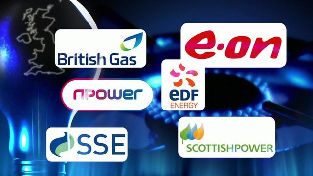 "The ""big six"" energy companies"