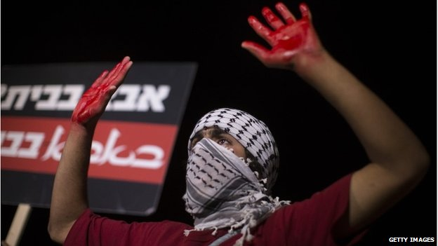 Israeli protests against release of Palestinian prisoners, 29 October