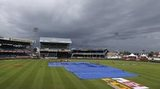 Rain at the Queen's Park Oval, Trinidad