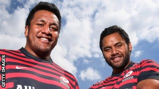 Mako and Billy Vunipola