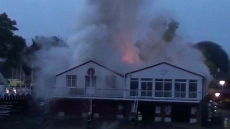 Marlow Rowing Club fire