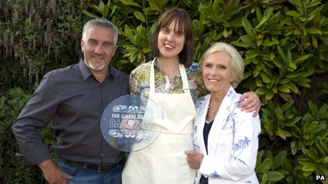 Paul Hollywood, Frances Quinn and Mary Berry