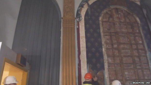 Inside Bradford Odeon