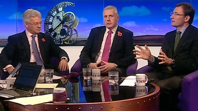 Alan Duncan, Vernon Coaker and James Landale