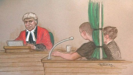 Court drawing