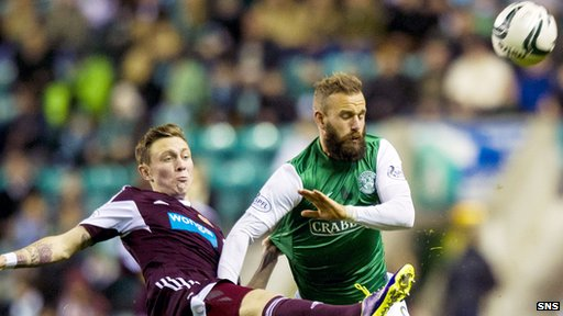 League Cup quarter-final at Easter Road