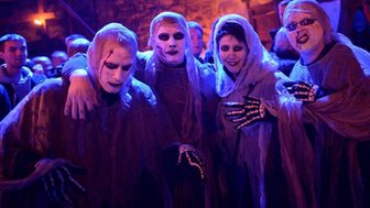 Ghoulish fancy dress costumes