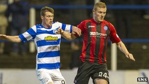 Morton v St Johnstone