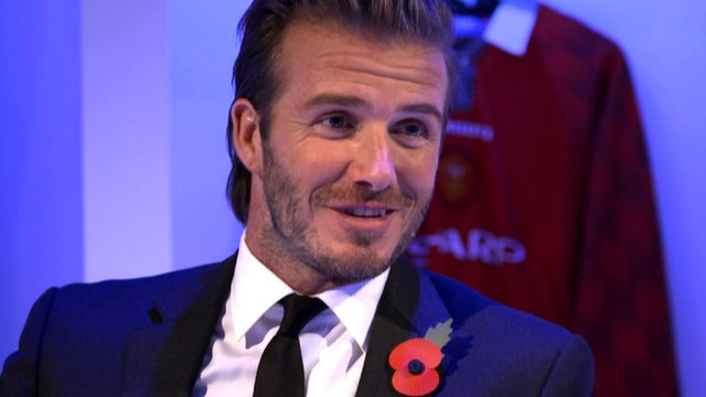 "David Beckham tells BBC Football Focus he is ""committed to growing"" football in the US and talks about the ""respect"" he has for Sir Alex Ferguson"