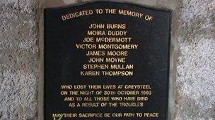 Greysteel memorial