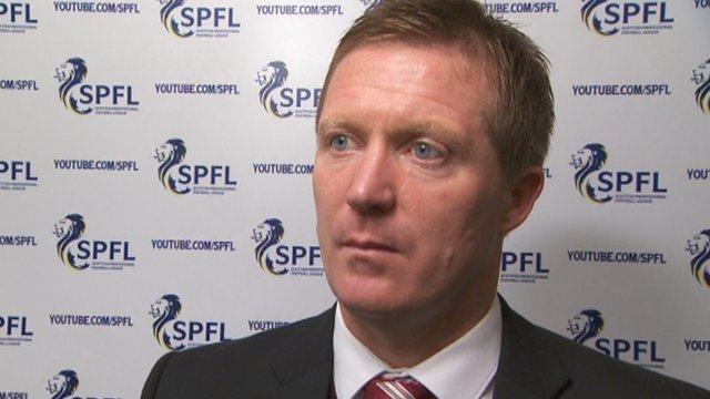 Interview - Heart of Midlothian manager Gary Locke