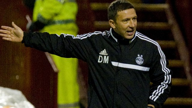 Aberdeen boss Derek McInnes