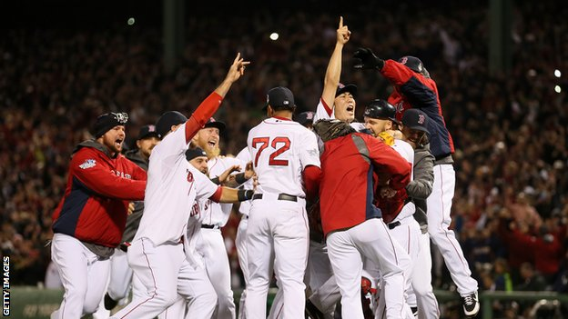 Boston Red Sox beat St Louis Cardinals in game six to win World Series