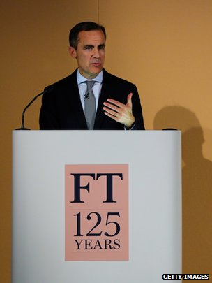 Mark Carney at FT event