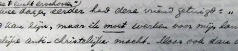 Fokko Omta's letter about Dijkema's last days