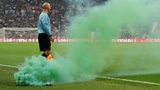 Flare thrown at England v Ireland at Wembley