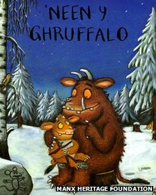 The Manx version of The Gruffalo's Child