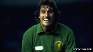 Former Liverpool goalkeeper Ray Clemence