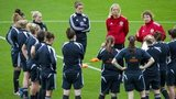 Scotland's women training
