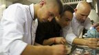 Chefs at Restaurant 1701