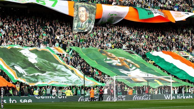 Celtic Park crowd