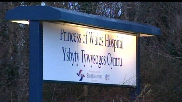 Princess of Wales Hospital sign