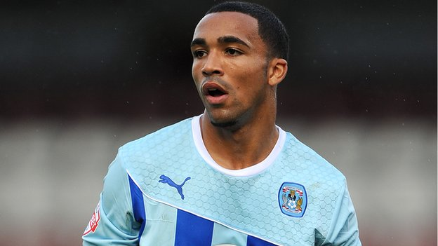 Coventry striker Callum Wilson