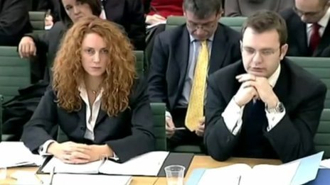 Rebekah Brooks and Andy Coulson in 2003