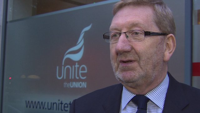 General Secretary of Unite the Union, Len McCluskey