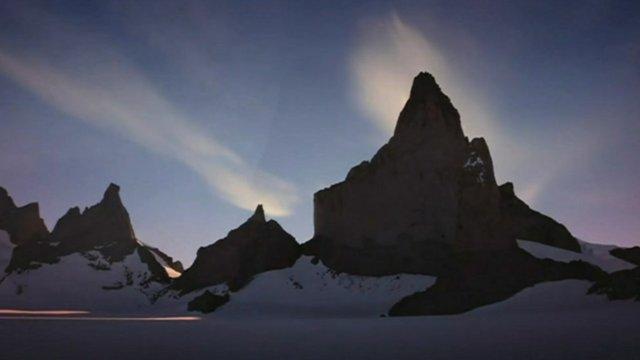 Ulvetanna mountain in Antarctica