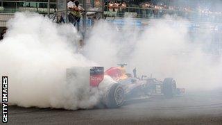 Sebastian Vettel in India