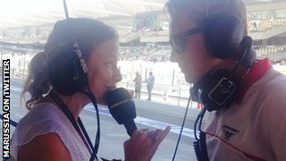 Jennie Gow and Max Chilton