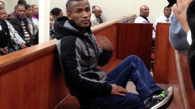 Johannes Kana in court