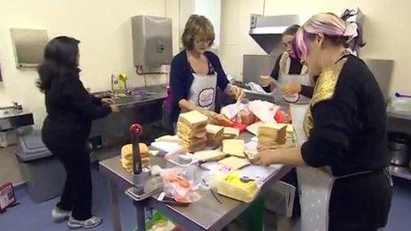 Peterborough Soup Kitchen volunteers