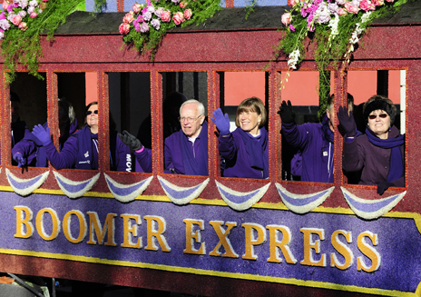 """Boomer express"" train promoting Alzheimer's awareness among baby boomers"