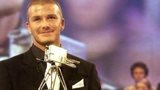 David Beckham won BBC Sports Personality of the Year in 2001