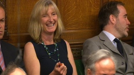 Dr Sarah Wollaston in Parliament