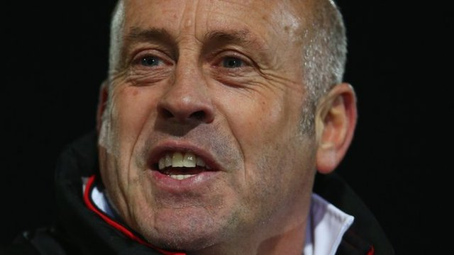 Hereford manager Martin Foyle