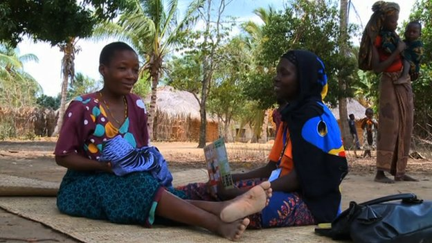 Two Tanzanian women talking