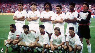 AC Milan win the 1989 European Cup