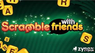 Scramble with friends screenshot