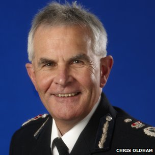 Chief Constable Greater Manchester Police, Sir Peter Fahy (file photo)