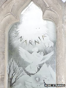 The Narnia window, Holy Trinity Church